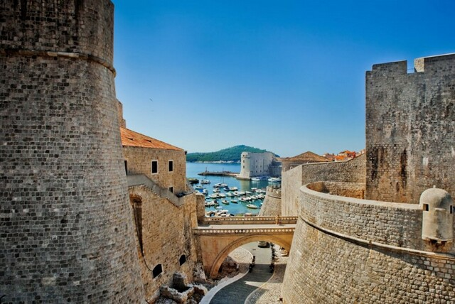 Dubrovnik - Old town on the See